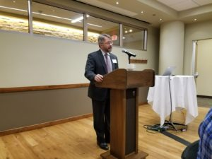 Kevin St. John Speaking at the ILS banquet