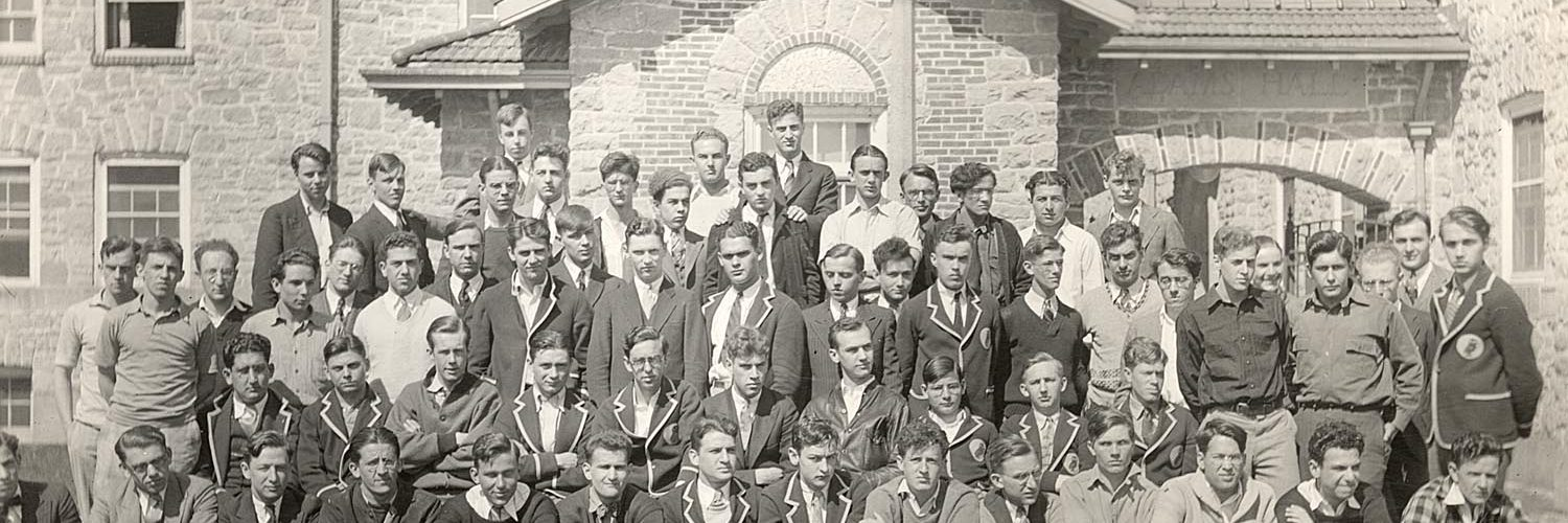 Group photo of Students from 1930